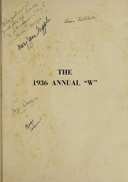 Page 5, 1936 Edition, Waukegan High School - Annual W Yearbook (Waukegan, IL) online yearbook collection