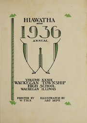 Page 7, 1936 Edition, Waukegan High School - Annual W Yearbook (Waukegan, IL) online yearbook collection