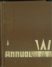 1939 Edition, Waukegan High School - Annual W Yearbook (Waukegan, IL)