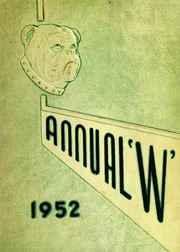 1952 Edition, Waukegan High School - Annual W Yearbook (Waukegan, IL)