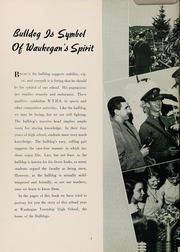 Page 8, 1952 Edition, Waukegan High School - Annual W Yearbook (Waukegan, IL) online yearbook collection