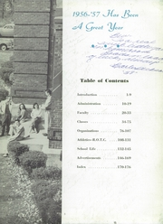 Page 7, 1957 Edition, Waukegan High School - Annual W Yearbook (Waukegan, IL) online yearbook collection