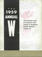 Page 6, 1959 Edition, Waukegan High School - Annual W Yearbook (Waukegan, IL) online yearbook collection