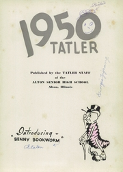 Page 5, 1950 Edition, Alton High School - Tatler Yearbook (Alton, IL) online yearbook collection