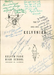 Page 5, 1953 Edition, Kelvyn Park High School - Kelvynian Yearbook (Chicago, IL) online yearbook collection