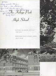 Page 8, 1957 Edition, Kelvyn Park High School - Kelvynian Yearbook (Chicago, IL) online yearbook collection