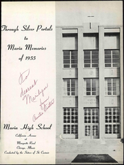 Page 7, 1955 Edition, Maria High School - Maria Yearbook (Chicago, IL) online yearbook collection
