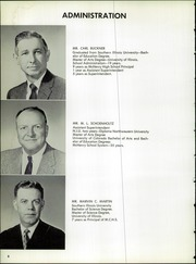 Page 10, 1964 Edition, McHenry Community High School - Warrior Yearbook (McHenry, IL) online yearbook collection