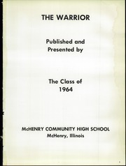 Page 5, 1964 Edition, McHenry Community High School - Warrior Yearbook (McHenry, IL) online yearbook collection