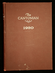 Page 1, 1920 Edition, Canton High School - Cantonian Yearbook (Canton, IL) online yearbook collection