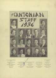 Page 6, 1936 Edition, Canton High School - Cantonian Yearbook (Canton, IL) online yearbook collection