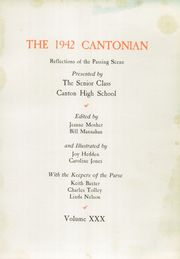 Page 7, 1942 Edition, Canton High School - Cantonian Yearbook (Canton, IL) online yearbook collection