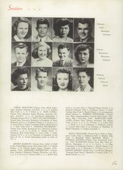 Page 16, 1947 Edition, Canton High School - Cantonian Yearbook (Canton, IL) online yearbook collection