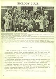 Page 80, 1953 Edition, Canton High School - Cantonian Yearbook (Canton, IL) online yearbook collection