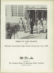 Page 5, 1954 Edition, Minooka High School - M DI AN Yearbook (Minooka, IL) online yearbook collection