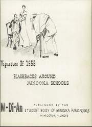 Page 7, 1956 Edition, Minooka High School - M DI AN Yearbook (Minooka, IL) online yearbook collection