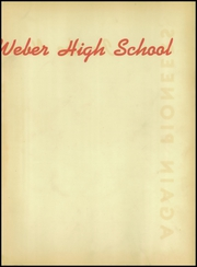 Page 3, 1951 Edition, Weber High School - Dolphin Yearbook (Chicago, IL) online yearbook collection