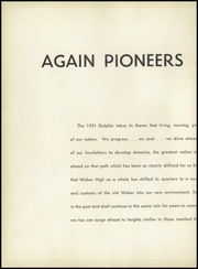 Page 8, 1951 Edition, Weber High School - Dolphin Yearbook (Chicago, IL) online yearbook collection