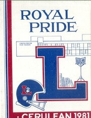 1981 Edition, Larkin High School - Cerulean Yearbook (Elgin, IL)