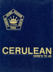 1985 Edition, Larkin High School - Cerulean Yearbook (Elgin, IL)
