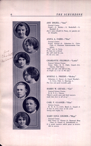Page 10, 1922 Edition, Carl Schurz High School - Schurzone Yearbook (Chicago, IL) online yearbook collection