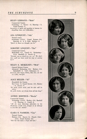 Page 11, 1922 Edition, Carl Schurz High School - Schurzone Yearbook (Chicago, IL) online yearbook collection