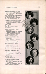 Page 13, 1922 Edition, Carl Schurz High School - Schurzone Yearbook (Chicago, IL) online yearbook collection