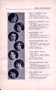 Page 8, 1922 Edition, Carl Schurz High School - Schurzone Yearbook (Chicago, IL) online yearbook collection