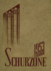 Page 1, 1953 Edition, Carl Schurz High School - Schurzone Yearbook (Chicago, IL) online yearbook collection