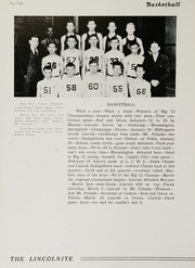 Page 14, 1939 Edition, Lincoln Community High School - Lincolnite Yearbook (Lincoln, IL) online yearbook collection