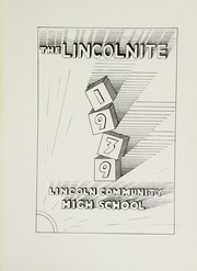 Page 7, 1939 Edition, Lincoln Community High School - Lincolnite Yearbook (Lincoln, IL) online yearbook collection