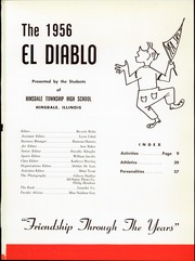 Page 5, 1956 Edition, Hinsdale Central High School - El Diablo Yearbook (Hinsdale, IL) online yearbook collection