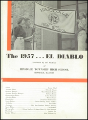 Page 5, 1957 Edition, Hinsdale Central High School - El Diablo Yearbook (Hinsdale, IL) online yearbook collection