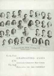 Page 11, 1948 Edition, Grayslake Community High School - Emerald Yearbook (Grayslake, IL) online yearbook collection