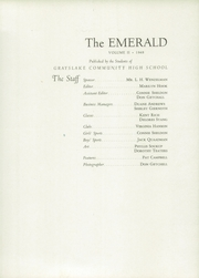 Page 9, 1948 Edition, Grayslake Community High School - Emerald Yearbook (Grayslake, IL) online yearbook collection