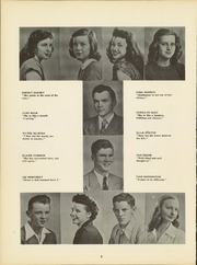 Page 12, 1949 Edition, Illinois Valley Central High School - Sequence Yearbook (Chillicothe, IL) online yearbook collection