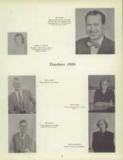 Page 9, 1950 Edition, Illinois Valley Central High School - Sequence Yearbook (Chillicothe, IL) online yearbook collection