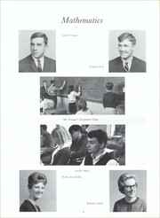 Page 16, 1967 Edition, Illinois Valley Central High School - Sequence Yearbook (Chillicothe, IL) online yearbook collection