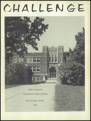Page 5, 1958 Edition, West Chicago Community High School - Challenge Yearbook (West Chicago, IL) online yearbook collection