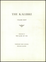 Page 5, 1931 Edition, Dekalb High School - Kalibre Yearbook (Dekalb, IL) online yearbook collection