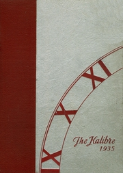 Page 1, 1935 Edition, Dekalb High School - Kalibre Yearbook (Dekalb, IL) online yearbook collection