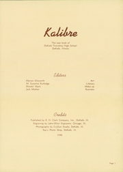 Page 7, 1946 Edition, Dekalb High School - Kalibre Yearbook (Dekalb, IL) online yearbook collection