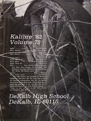 Page 3, 1982 Edition, Dekalb High School - Kalibre Yearbook (Dekalb, IL) online yearbook collection