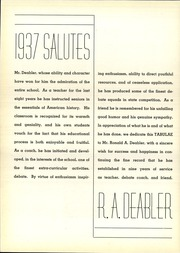 Page 10, 1937 Edition, Lyons Township High School - Tabulae Yearbook (La Grange, IL) online yearbook collection