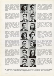 Page 14, 1941 Edition, Lyons Township High School - Tabulae Yearbook (La Grange, IL) online yearbook collection