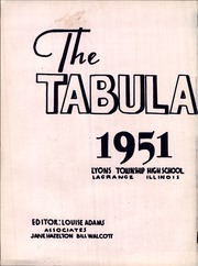 Page 6, 1951 Edition, Lyons Township High School - Tabulae Yearbook (La Grange, IL) online yearbook collection