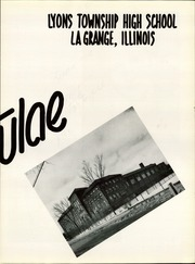Page 9, 1956 Edition, Lyons Township High School - Tabulae Yearbook (La Grange, IL) online yearbook collection