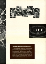 Page 9, 1961 Edition, Lyons Township High School - Tabulae Yearbook (La Grange, IL) online yearbook collection