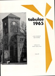 Page 5, 1965 Edition, Lyons Township High School - Tabulae Yearbook (La Grange, IL) online yearbook collection