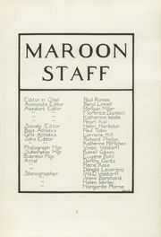 Page 9, 1924 Edition, Elgin High School - Maroon Yearbook (Elgin, IL) online yearbook collection